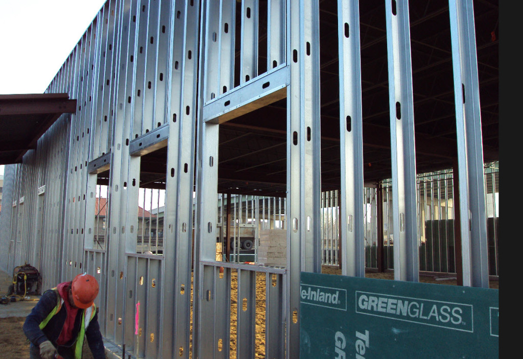 Steel Building Framing In Window : Electronic takeoff systems csp construction